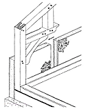 Timber-frame walls